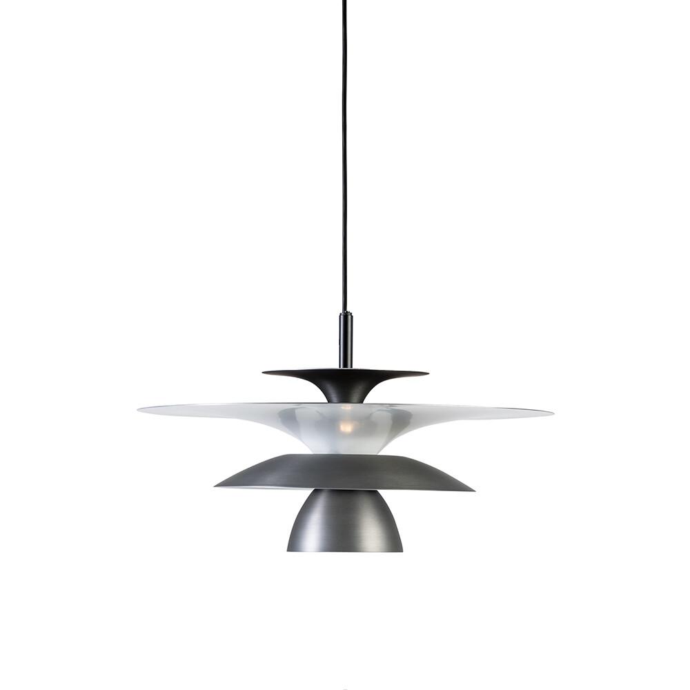 Picasso Pendel Oxidgrå Ø380 LED – Belid