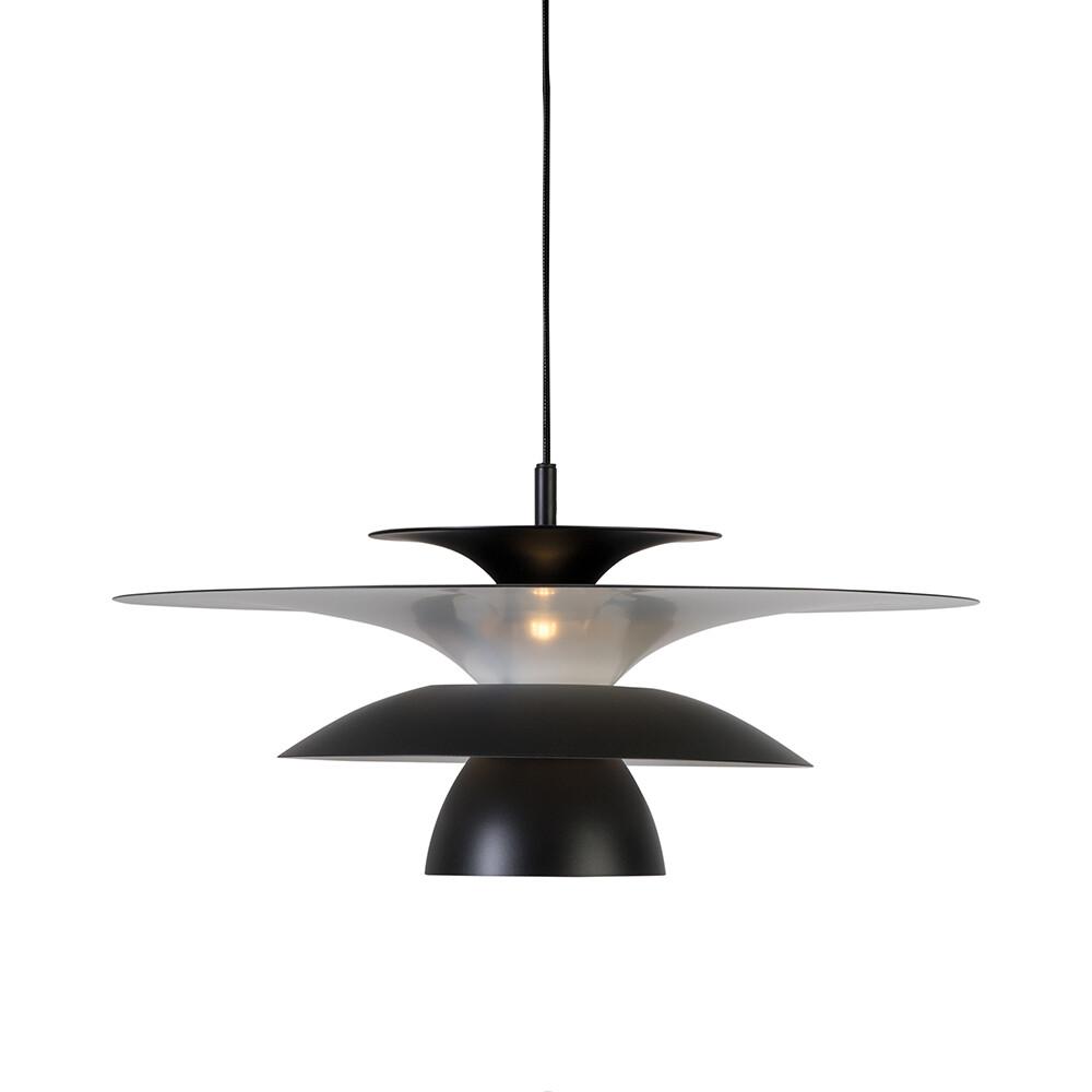 Picasso Pendel Mat Sort/Mat Sort Ø500 LED – Belid