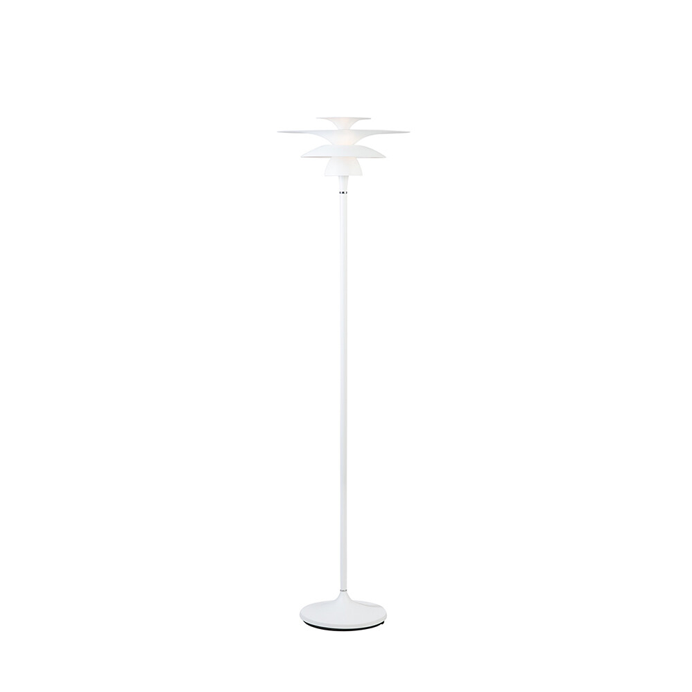 Picasso Gulvlampe Mat Hvid Ø380 LED – Belid