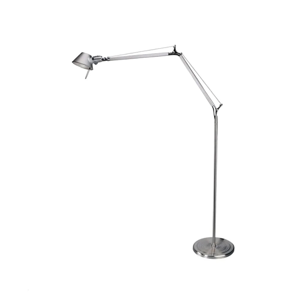 Tolomeo Gulvlampe LED Alu – Artemide