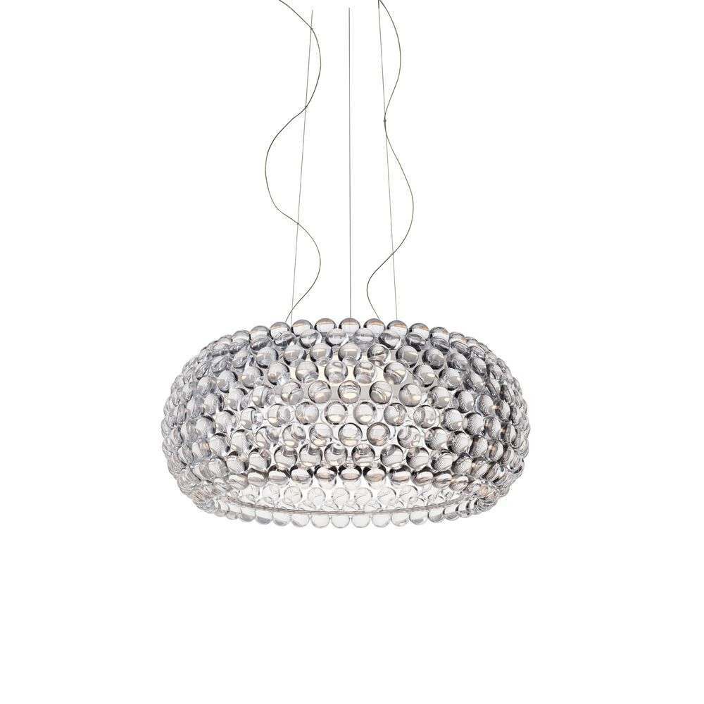 Caboche Plus LED Grande Pendel 3,2m Transparent – Foscarini