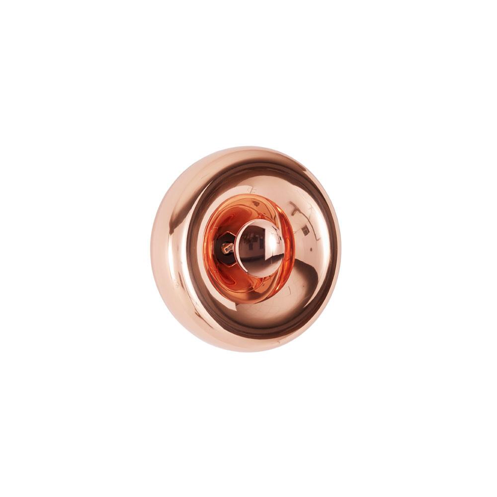 Void Surface LED Væglampe Kobber – Tom Dixon