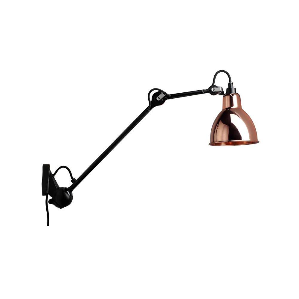 222 Væglampe Sort/Kobber - Lampe Gras thumbnail