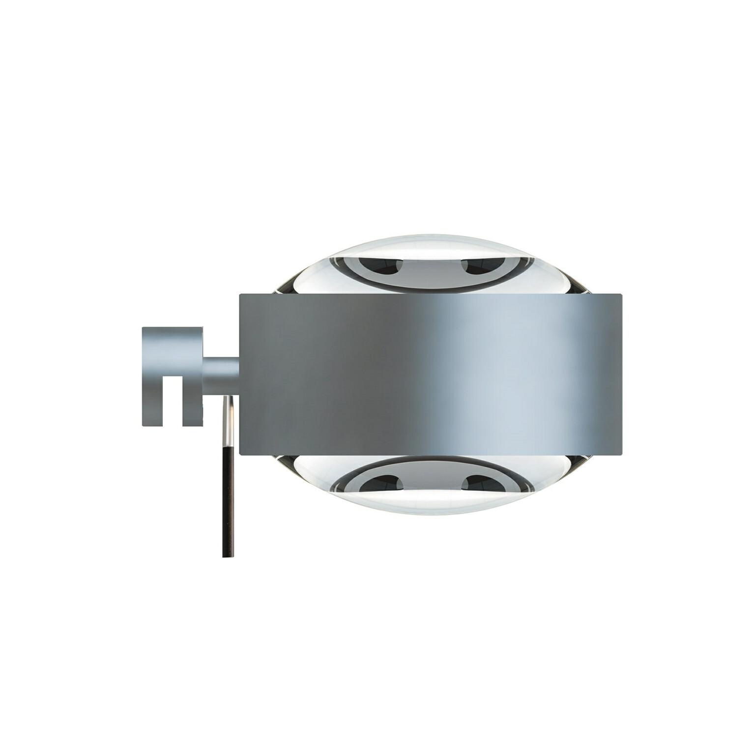 Puk Maxx LED Væglampe Lens + Lens Mat Krom – Top Light