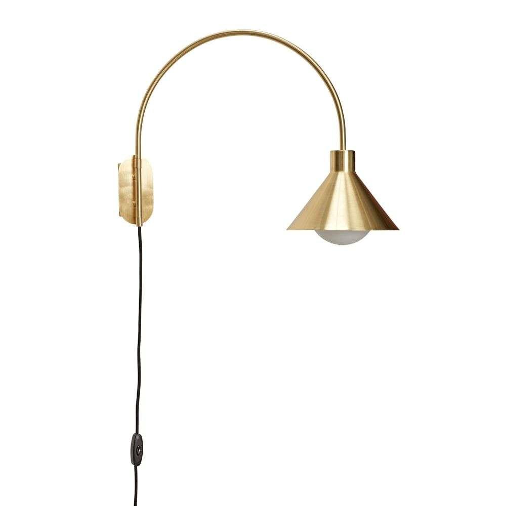 Image of Væglampe Brass - Hübsch (15980323)