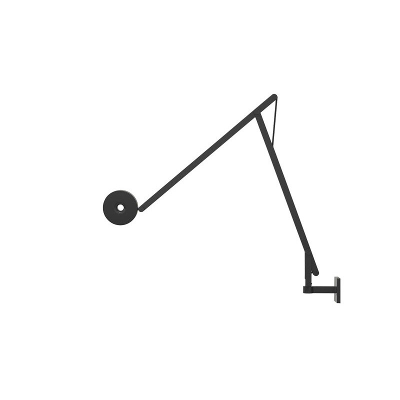 Image of String W1 Væglampe Sort/Sort - Rotaliana (10304770)