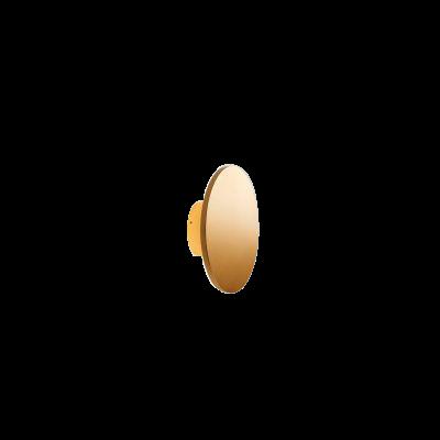 Soho W2 LED 3000K Væglampe Ø20 Guld – LIGHT-POINT