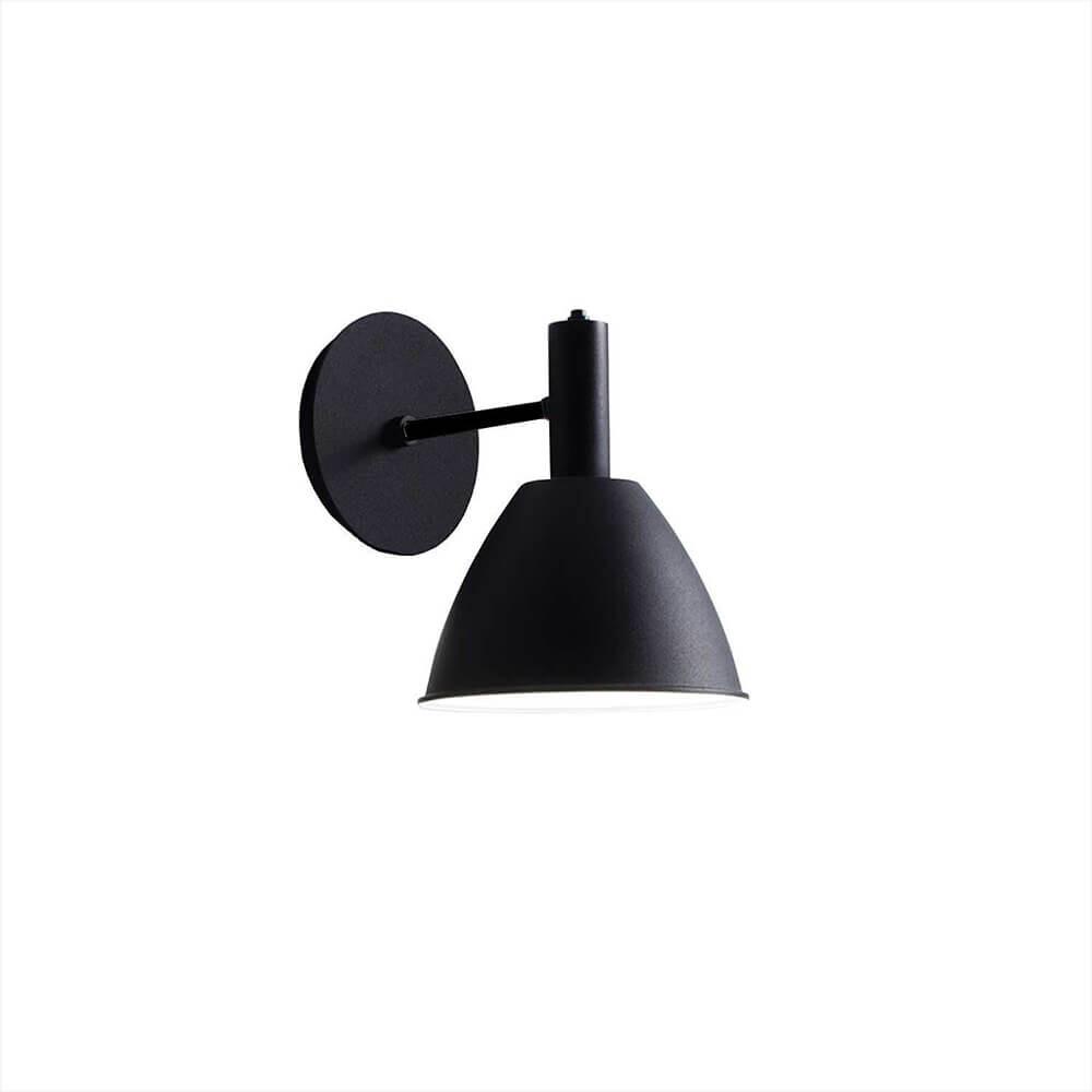 Billede af Bauhaus 90W Væglampe Sort - lumini