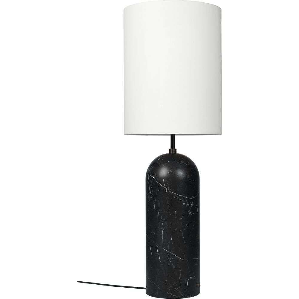 Gravity XL High Gulvlampe Black Marble/White - GUBI thumbnail