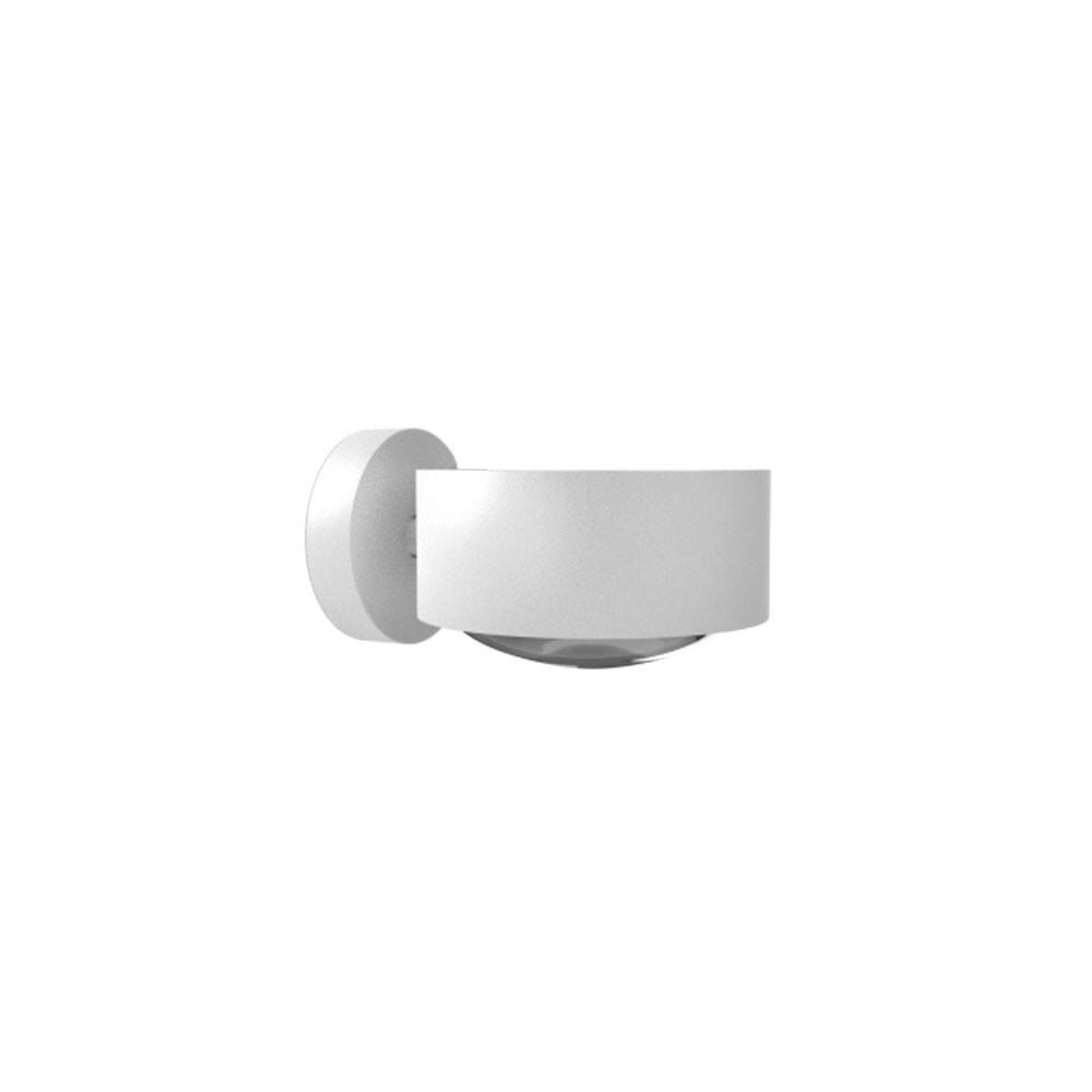 Puk Maxx Væglampe LED Lens + Glas Hvid – Top Light