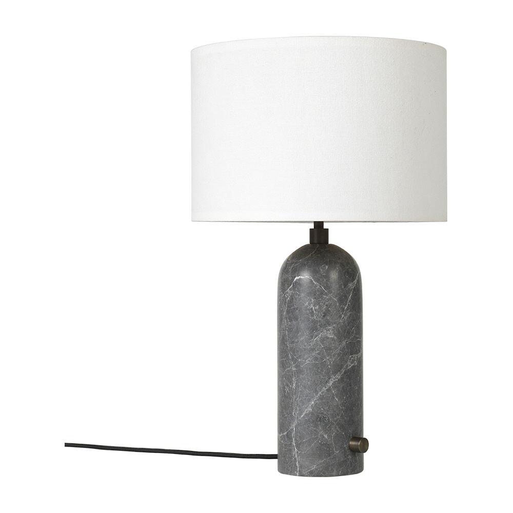 Billede af Gravity Bordlampe Large Grå Marmor/Hvid - GUBI