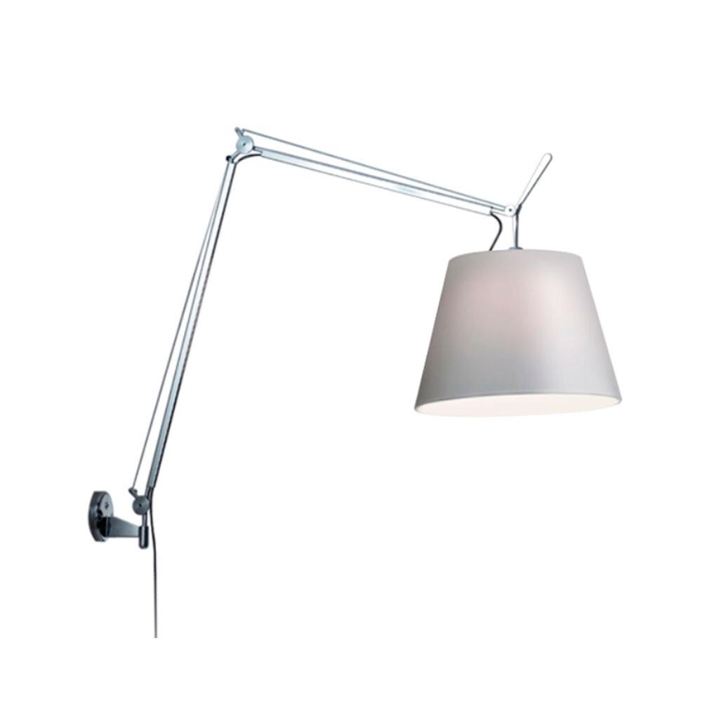Billede af Tolomeo Mega Væglampe Alu/Grå - Artemide
