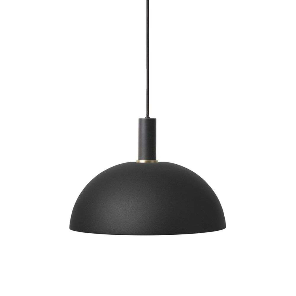 Image of Collect Pendel Dome Low Black - Ferm Living (15998631)