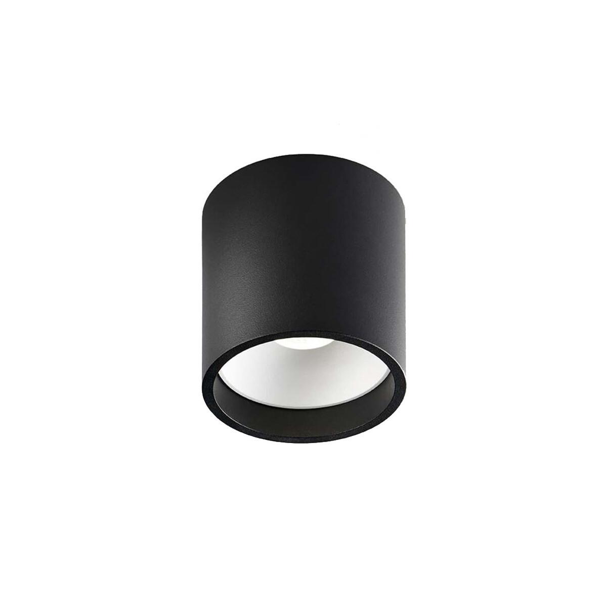 Solo Round LED Loftlampe 2700K Sort/Hvid – LIGHT-POINT