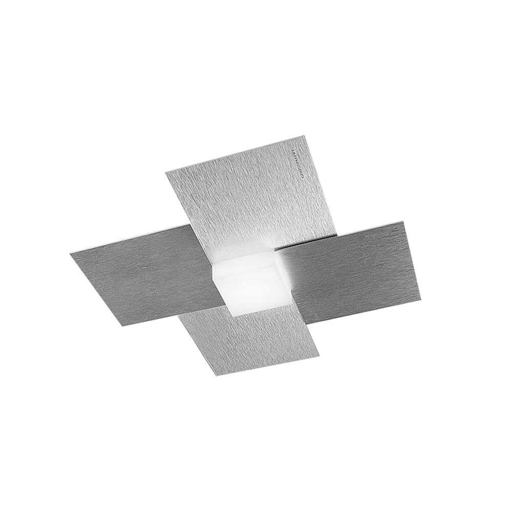 Creo 51 LED Væg-/Loftlampe Aluminium – Grossmann