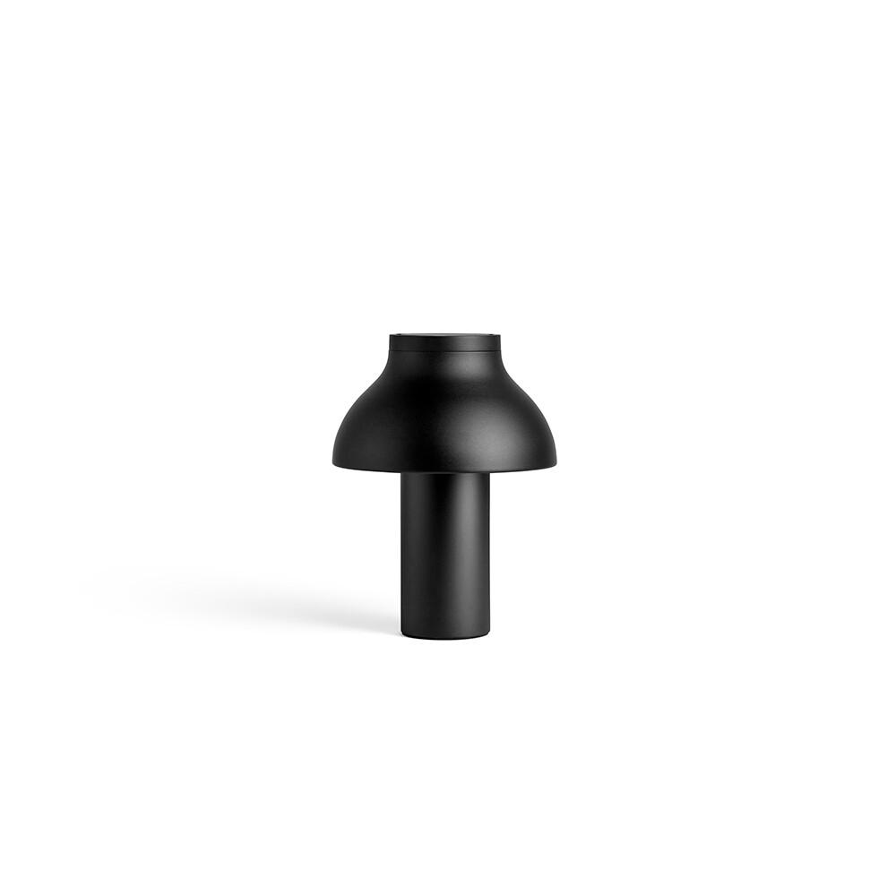 Image of PC Bordlampe S Soft Black/Alu - HAY (15284318)