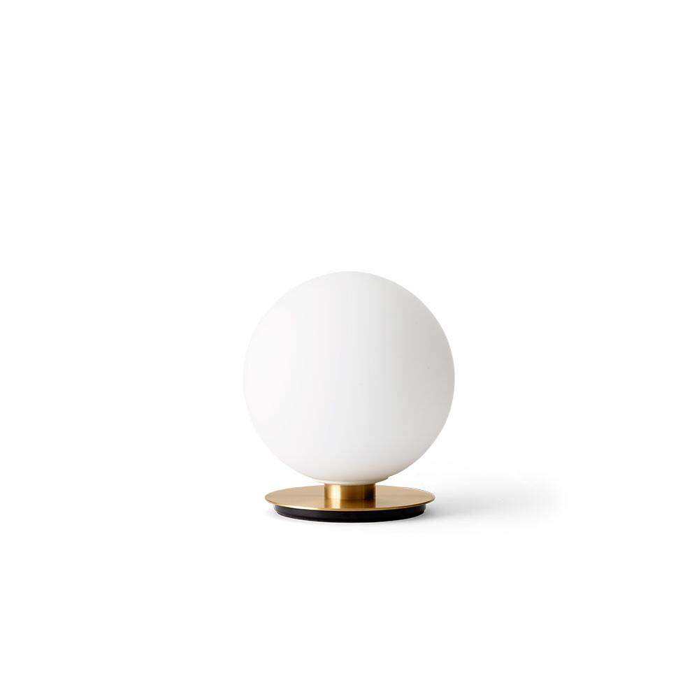 Billede af TR Bulb Bordlampe/Væglampe Brushed Brass/Shiny Opal (Dim-To-Warm) - Menu