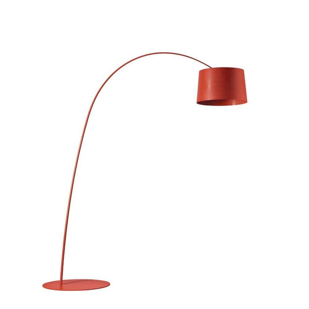 Twiggy LED Gulvlampe Rød – Foscarini