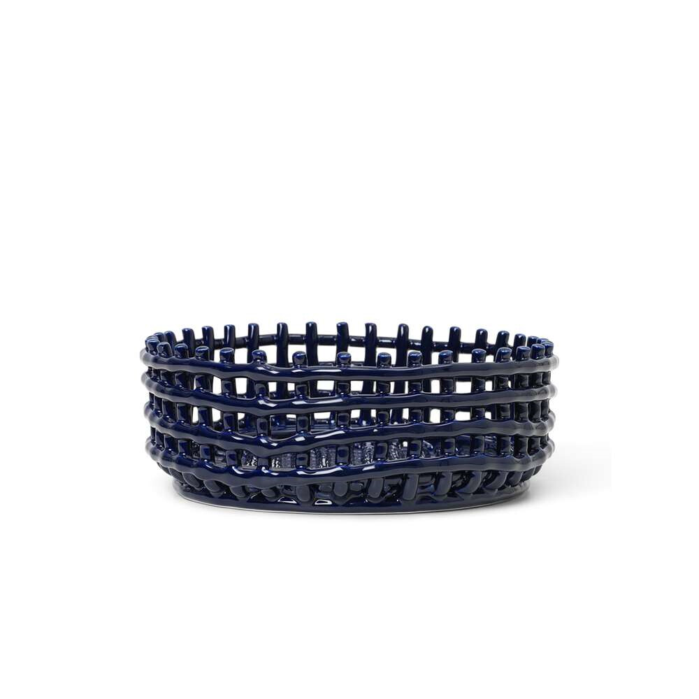 Ceramic Centrepiece Blue - Ferm Living thumbnail