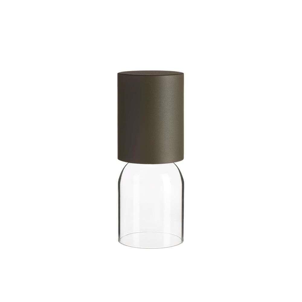 Nui Mini LED Rechargable Bordlampe Greige – Luceplan