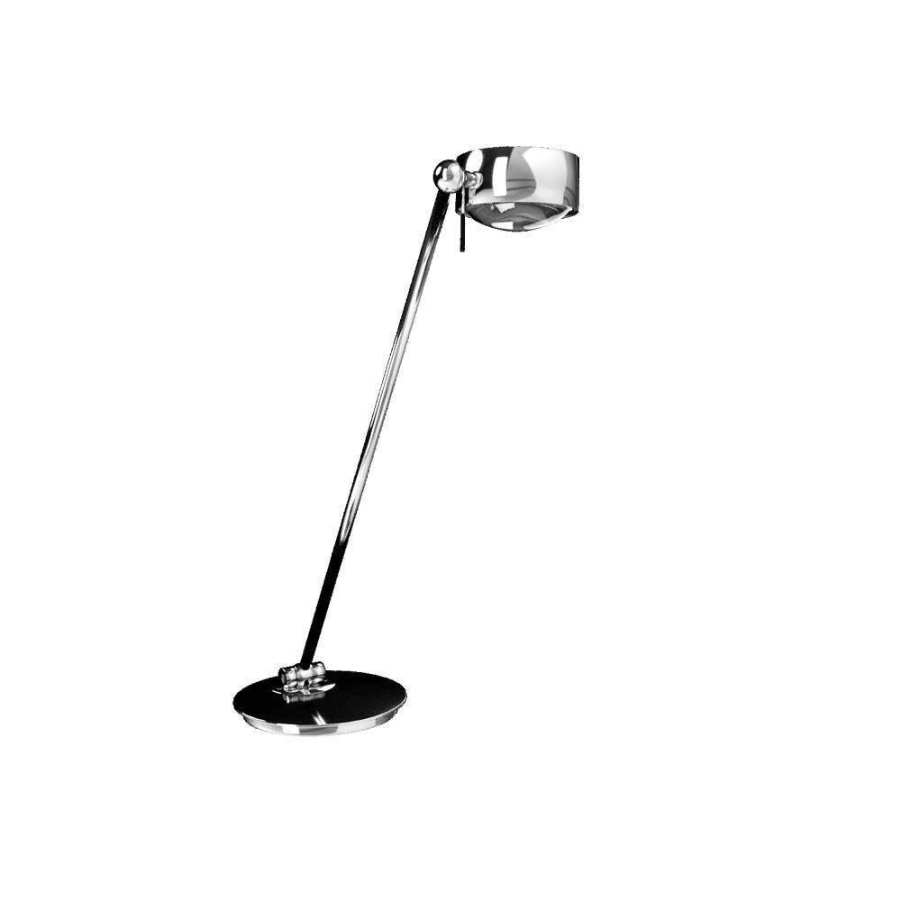 Puk Maxx Single LED Bordlampe Krom – Top Light