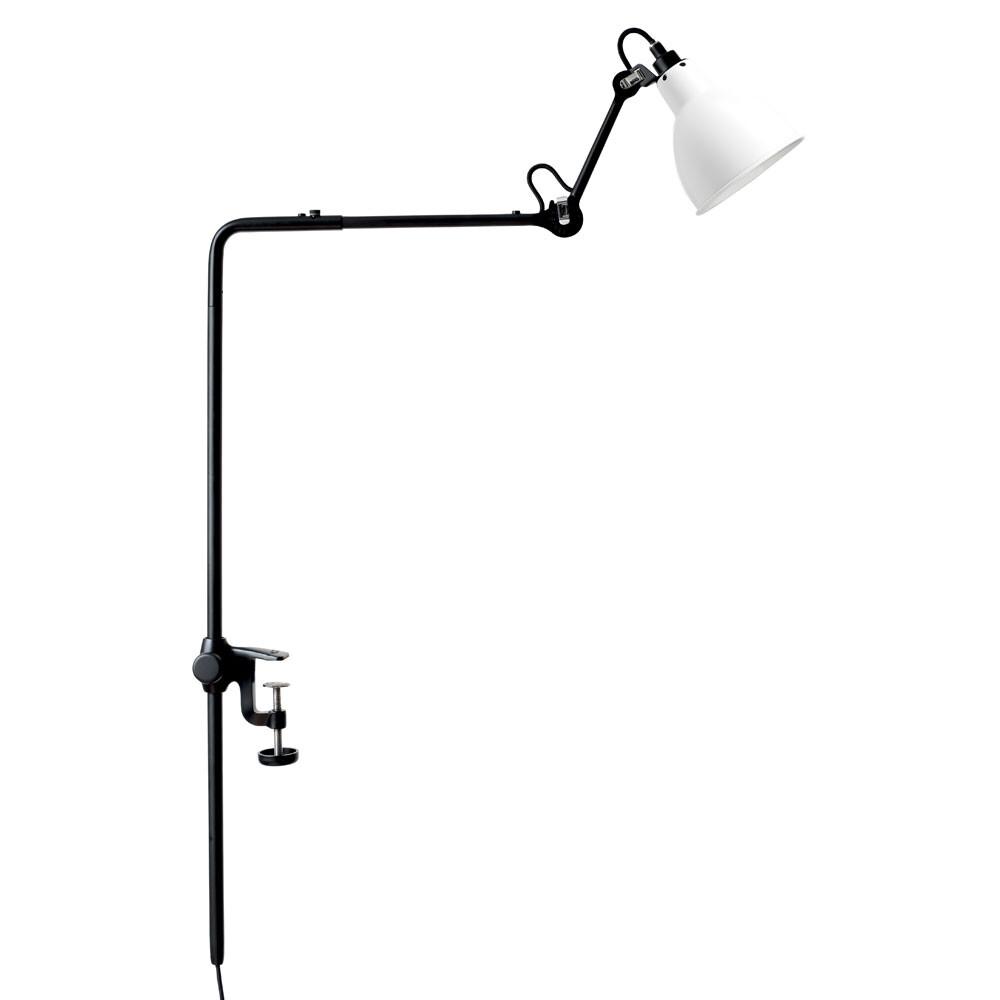 226 Bordlampe/Reol Sort/Hvid - Lampe Gras