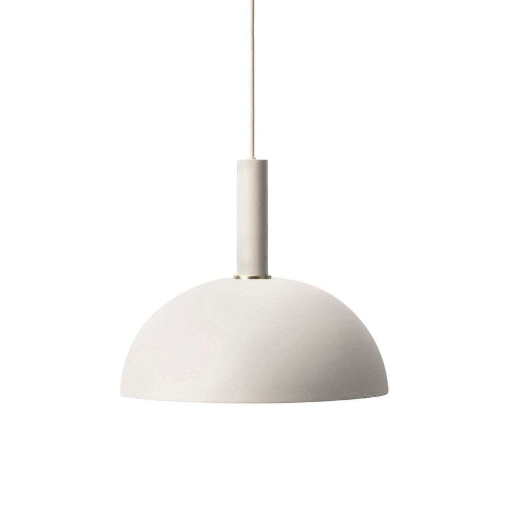 Image of Collect Pendel Dome High Light Grey - Ferm Living (15998637)