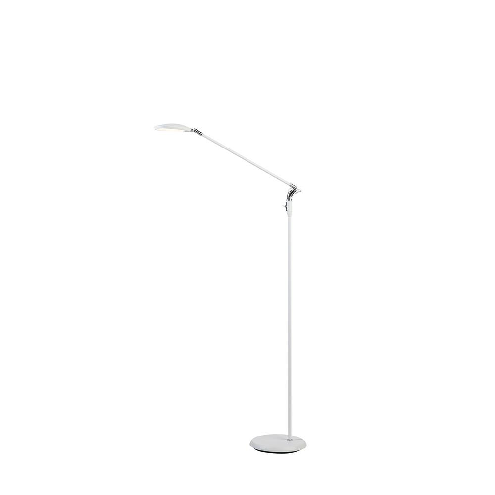 Spectra Gulvlampe Mat Hvid LED – Belid