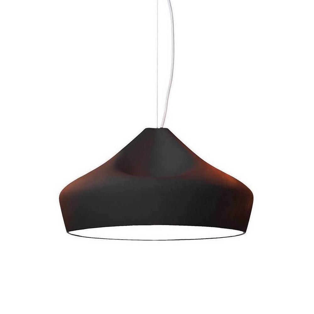 Image of Pleat Box 47 Pendel Black/White E27 - Marset (7119333)
