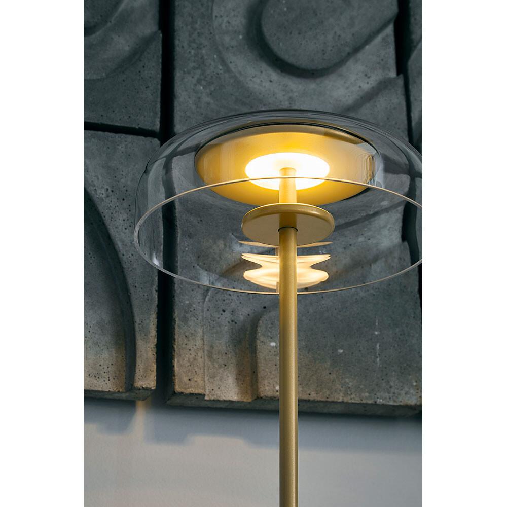 Blossi Bordlampe Nordic GoldClear Nuura