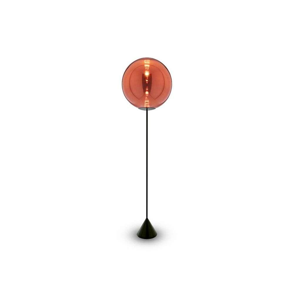 Image of Globe Cone Gulvlampe Copper Black - Tom Dixon (16117221)