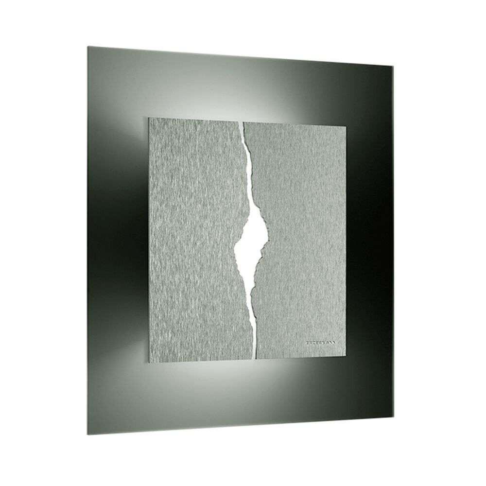 Canyon 52 LED Væg-/Loftlampe Aluminium – Grossmann