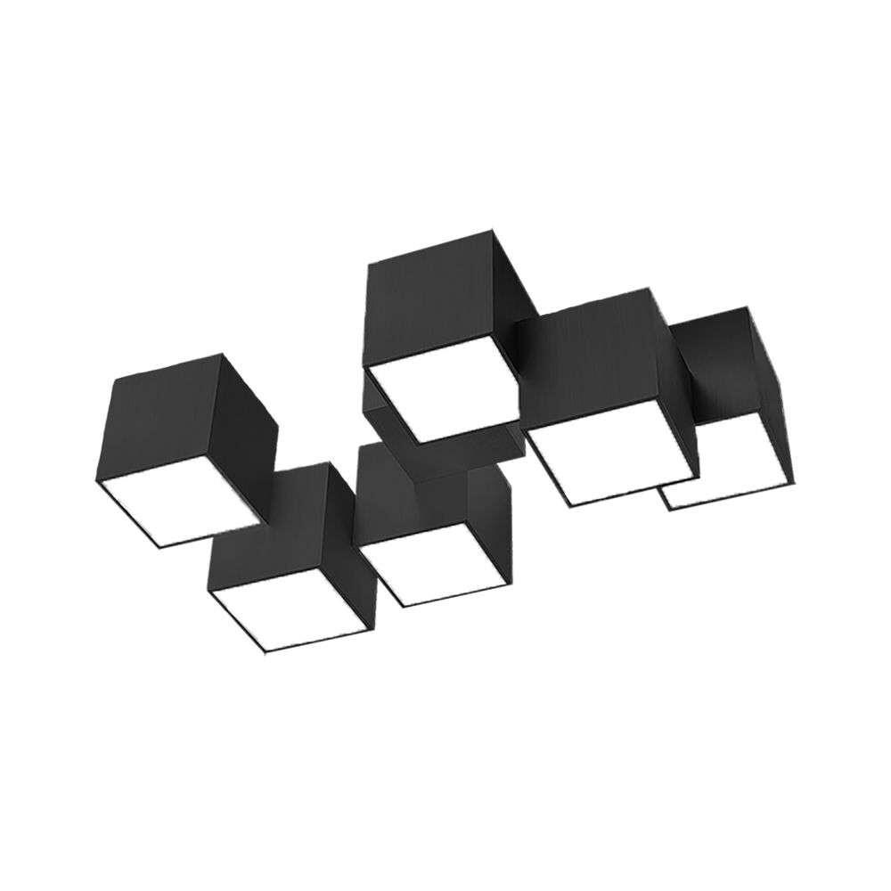 Rocks 76 LED Loftlampe Black – Grossmann