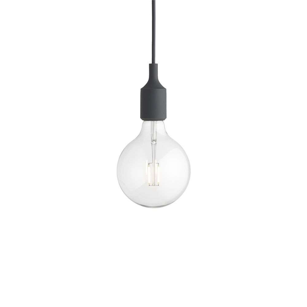 Image of E27 Pendel Dark Grey - Muuto (9031805)