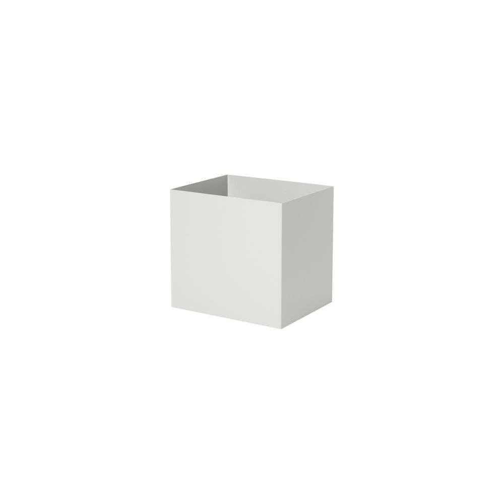 Plant Box Pot Light Grey - Ferm Living thumbnail