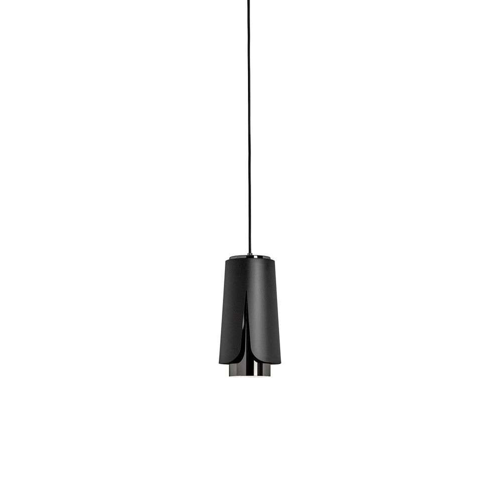 Image of Tulipa S3 Pendel Matt Black/Black Chrome - Prandina (16880354)