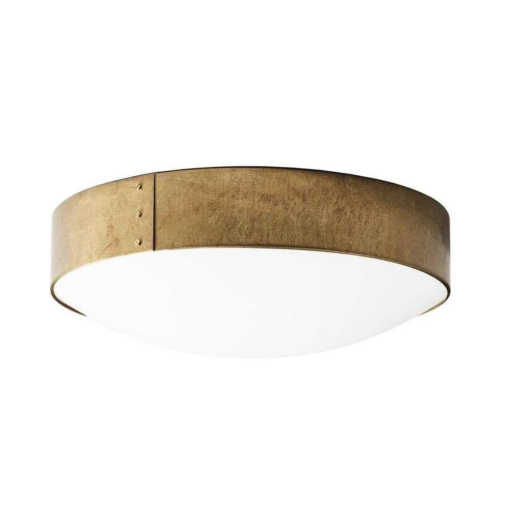 Svep Loftlampe Ø55 Rå Messing - Konsthantverk thumbnail