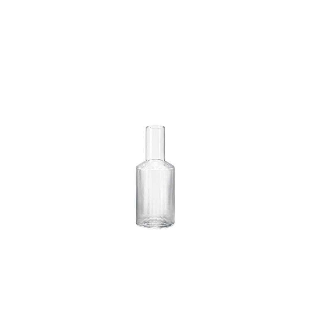 Image of Ripple Carafe Clear - Ferm Living (16161532)