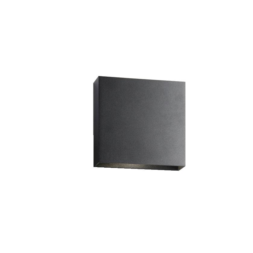 Compact Down W1 LED 3000K Væglampe Sort – LIGHT-POINT