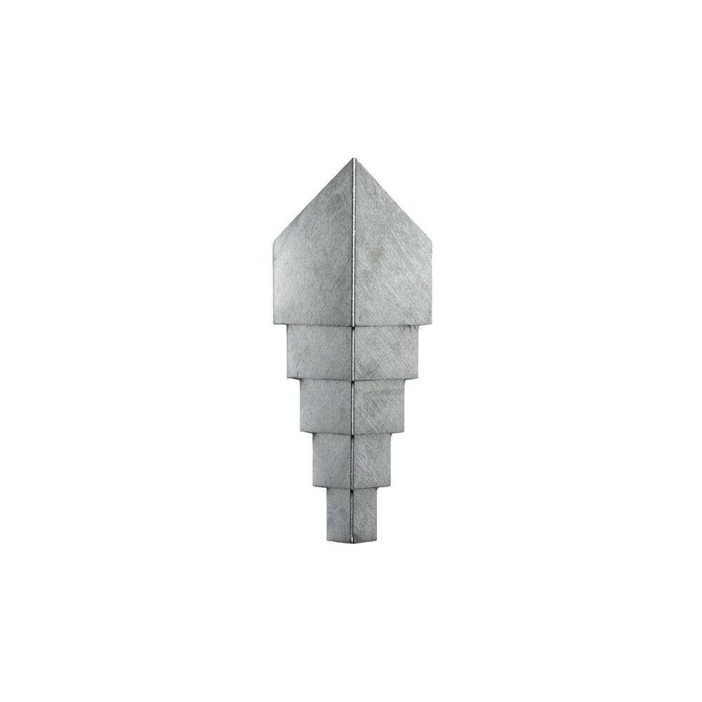 Diamond 62 Udendørs Væglampe Zink - Askman Design
