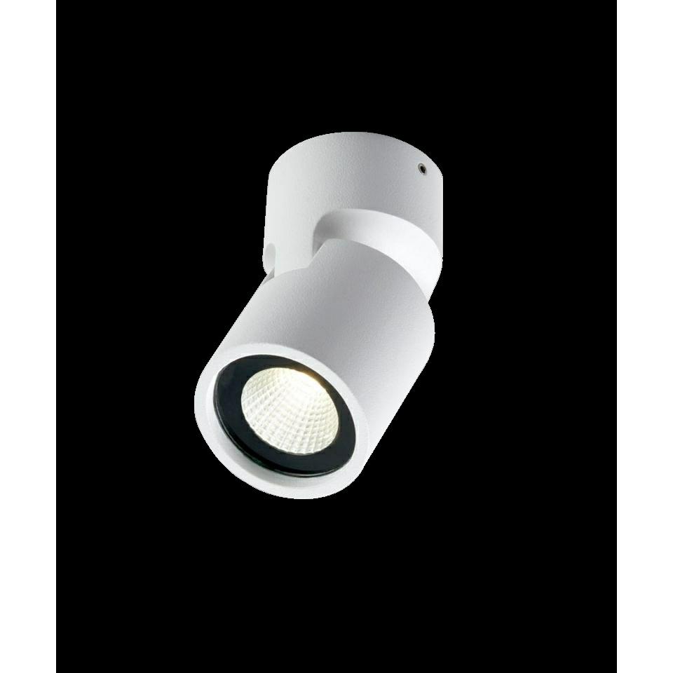 Tip 1 LED 3000K Loftlampe Hvid – LIGHT-POINT
