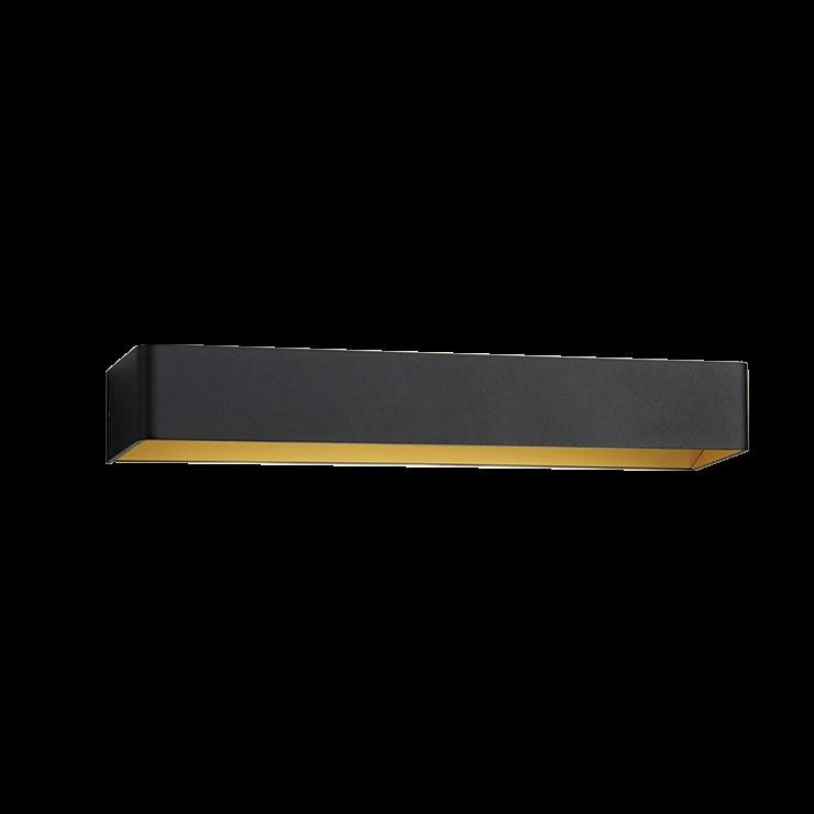Mood 3 LED 3000K Væglampe Sort/Guld – LIGHT-POINT