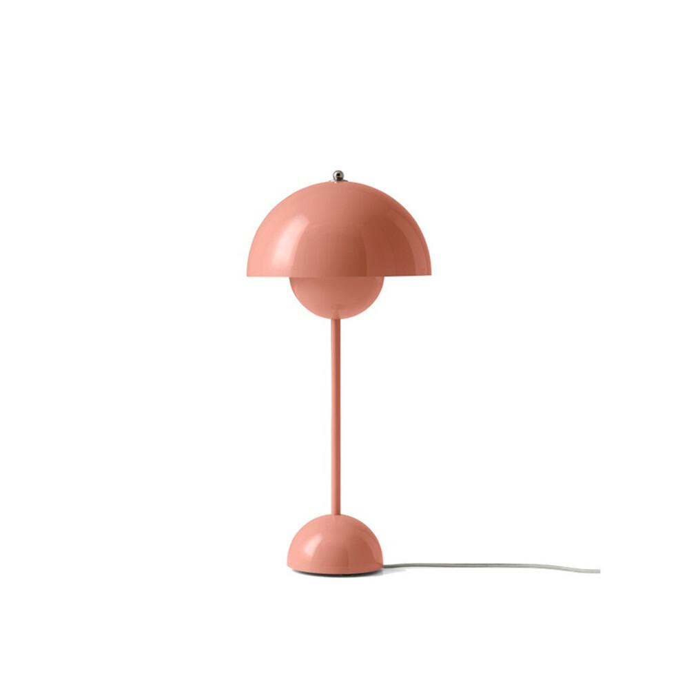 Image of Flowerpot VP3 Bordlampe Beige Red - &tradition (8800135)