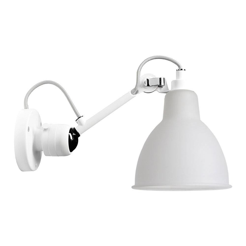 304 Væglampe Hvid/Glas - Lampe Gras thumbnail