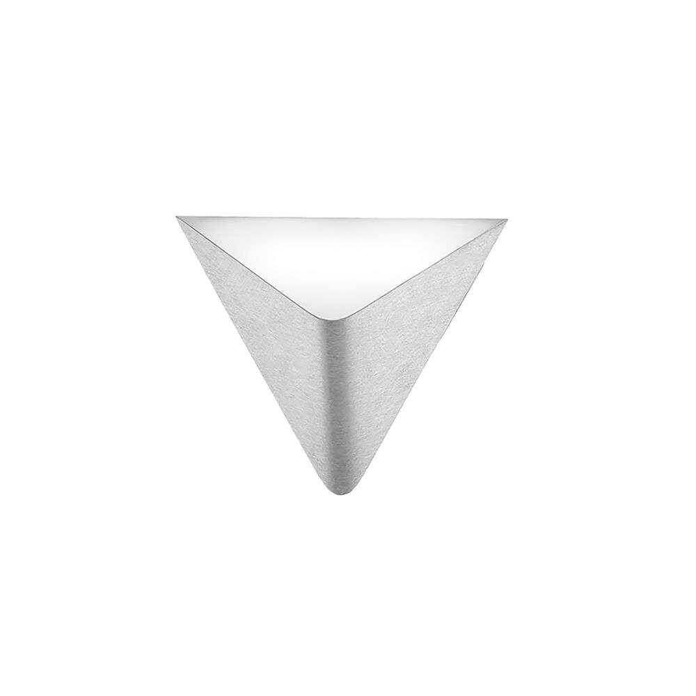 Delta LED Væglampe Aluminium – Grossmann