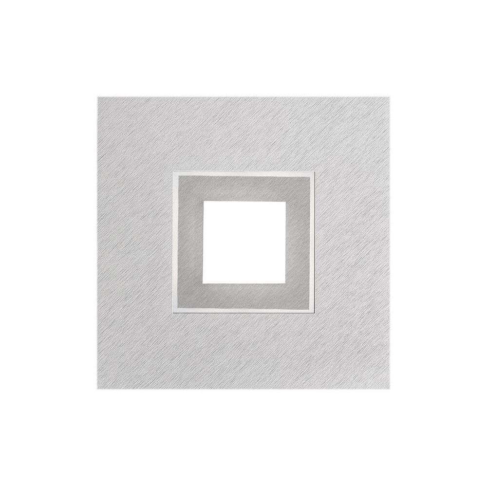 Karree 51 LED Væg-/Loftlampe Aluminium/Titanium – Grossmann
