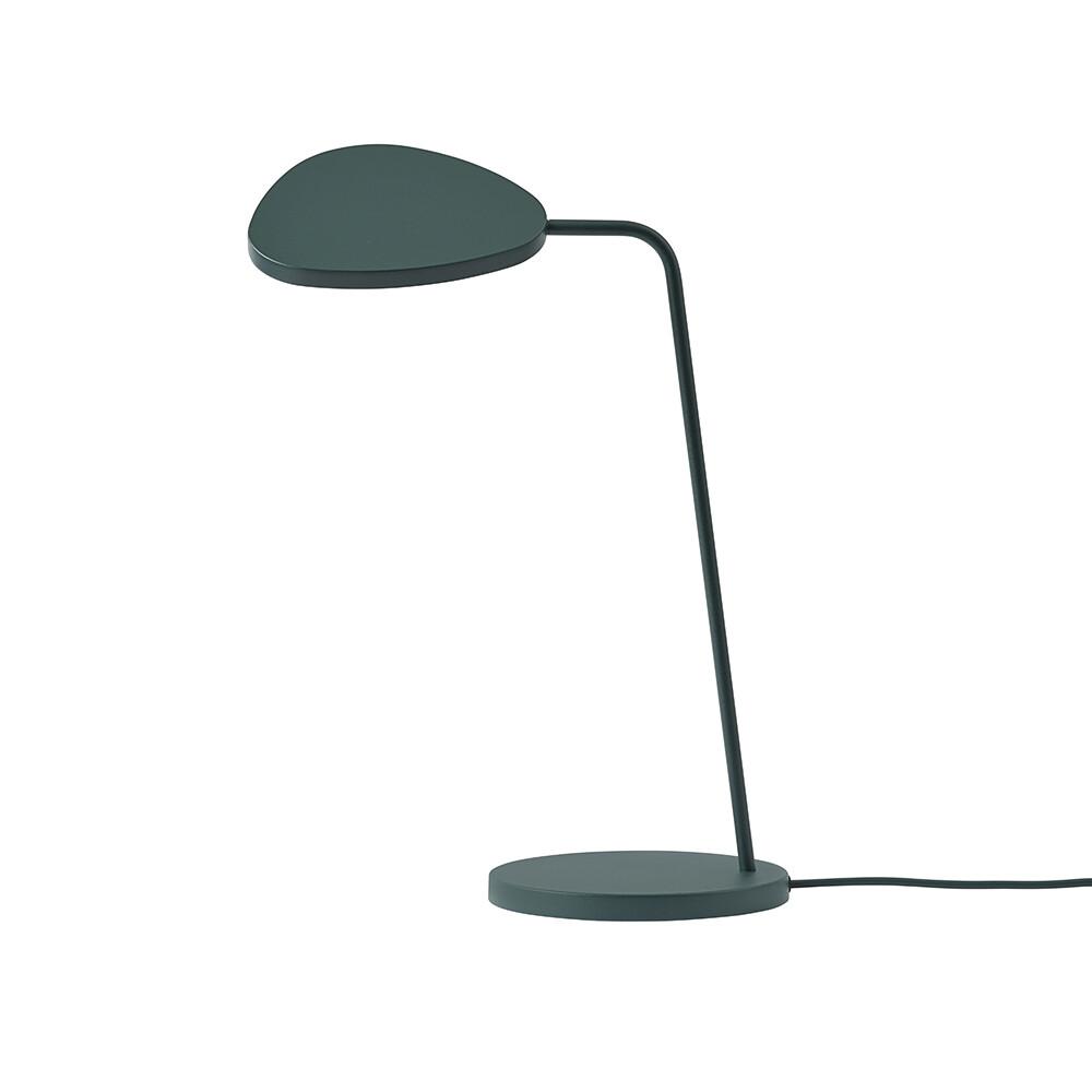 Billede af Leaf Bordlampe Dark Green - Muuto