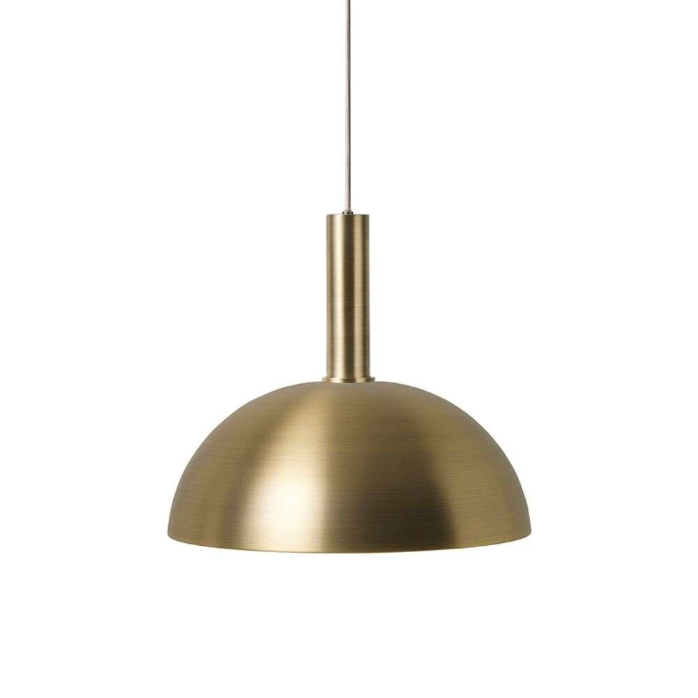 Image of Collect Pendel Dome High Brass - Ferm Living (15998567)