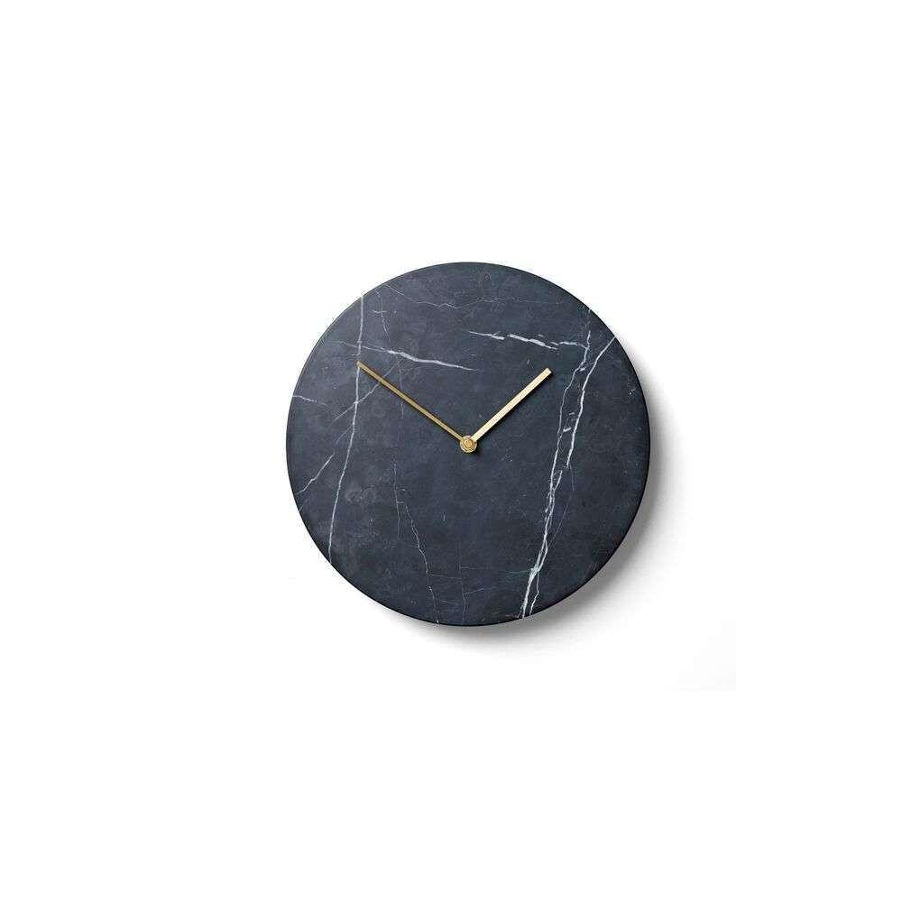Marble Wall Clock Black - Menu thumbnail