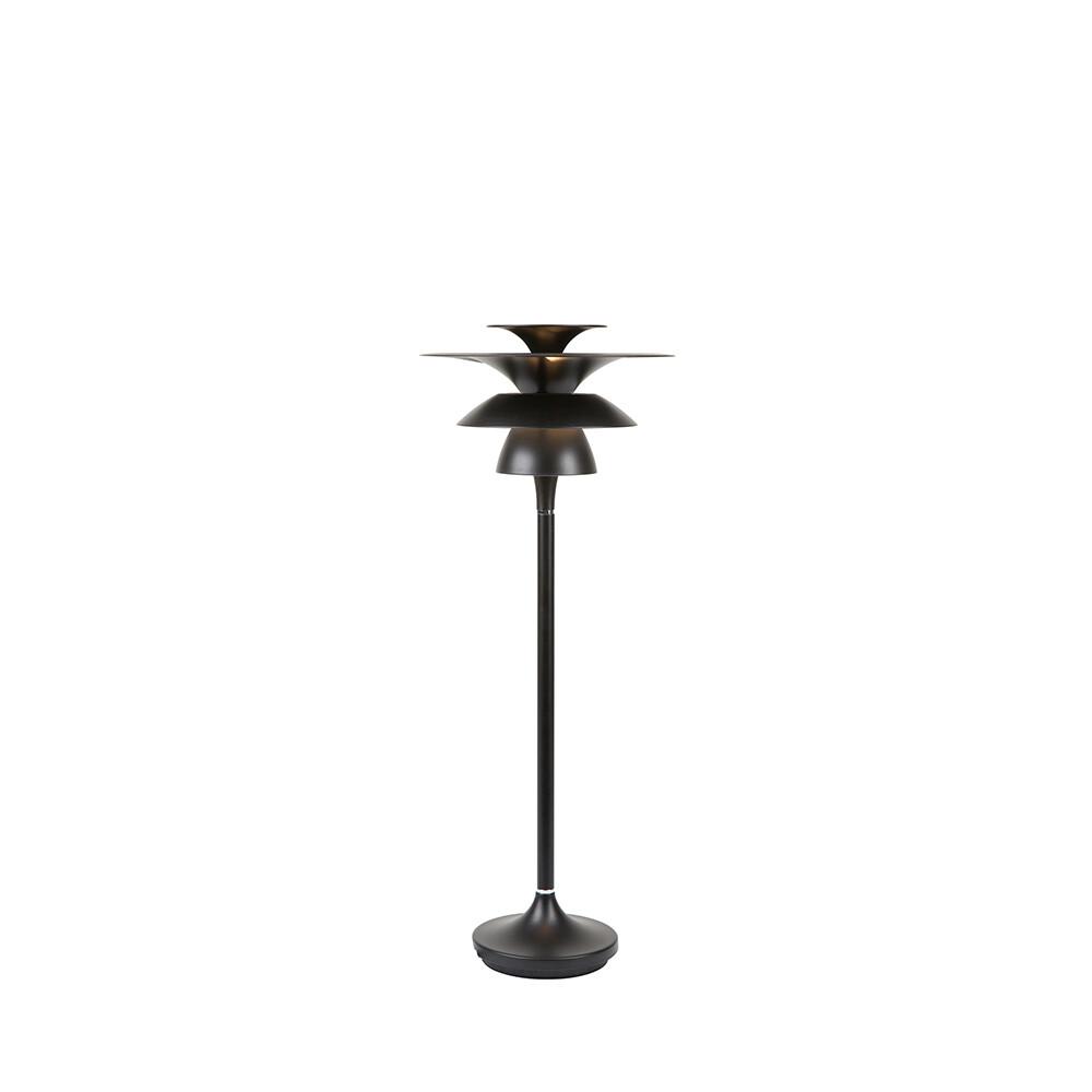 Picasso Bordlampe H465 Mat Sort LED – Belid